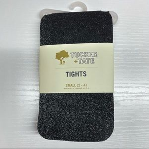 NWT Tucker + Tate Girls Sparkle Tights Size Small